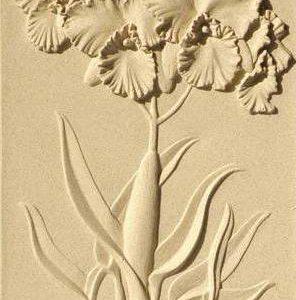 tranh khắc nổi hoa lan