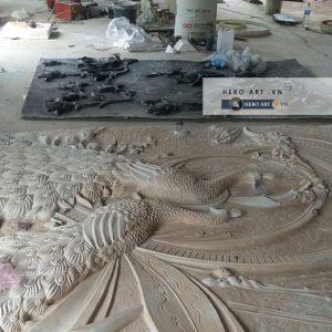 sản xuất phù điêu composite