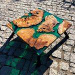 bàn gỗ epoxy resin