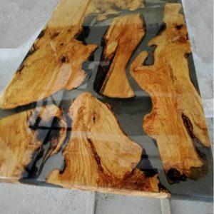 bàn epoxy chữ nhật