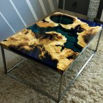 bàn gỗ epoxy