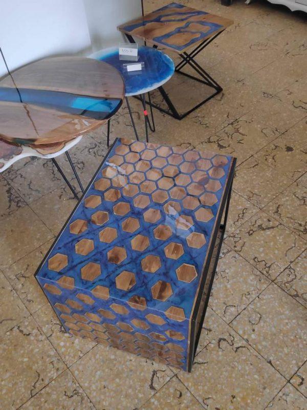 bàn tổ ong đổ keo epoxy