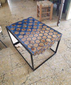 mặt bàn gỗ để nhựa epoxy đẹp