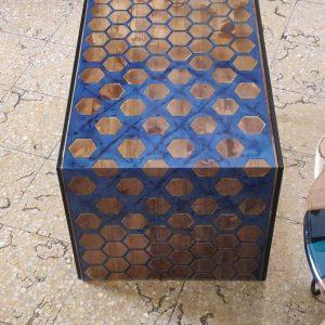 bàn gỗ mặt liền đổ keo epoxy