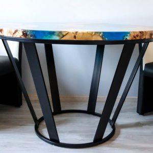 trang trí quán cafe bàn keo epoxy