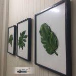 mua tranh ghép nổi 3d hình lá sen treo tường nghệ thuật