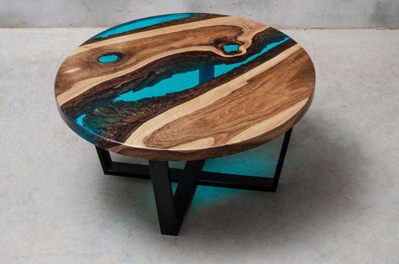 bán bàn gỗ epoxy
