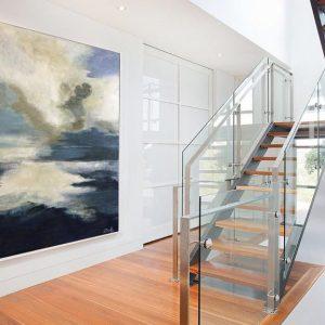 vẽ tranh treo tường hiện đại