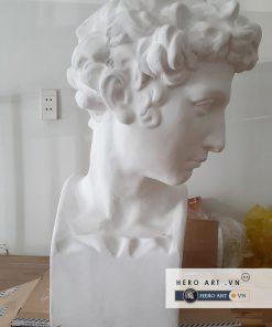 Chân dung tượng David thạch cao