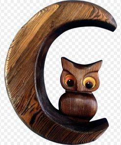 con cú bằng gỗ