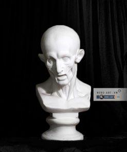 tượng thạch cao luyện thi vẽ lột da
