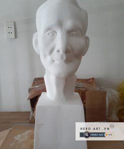 bán đầu tượng cụ già bằng thạch cao luyện thi