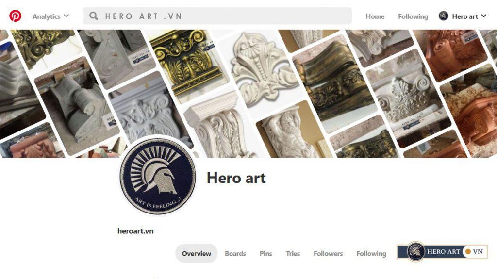thư viện ảnh hoạt động nghệ thuật hero art