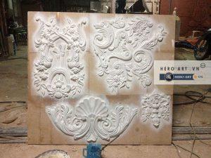 hoa văn cổ điển trang trí nhà