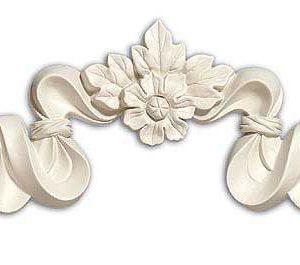 phù điêu hoa văn cổ điển trang trí mặt tiền nhà