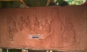 thi công trang trí phù điêu chùa