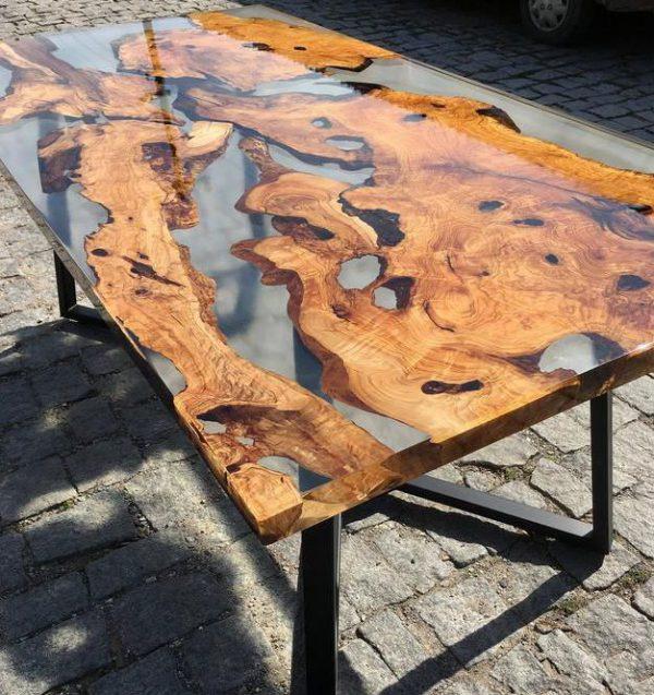 bàn ghế epoxy