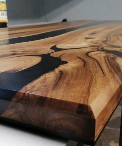 mặt bàn gỗ epoxy resin giá rẻ