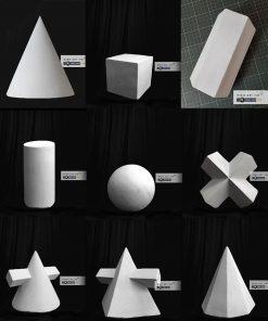 khối thạch cao luyện thi vẽ mĩ thuật kiến trúc