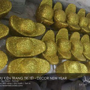 bán thỏi vàng bằng mút xốp