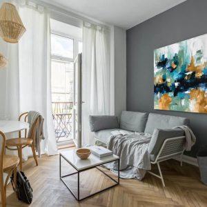 tranh trang trí căn hộ