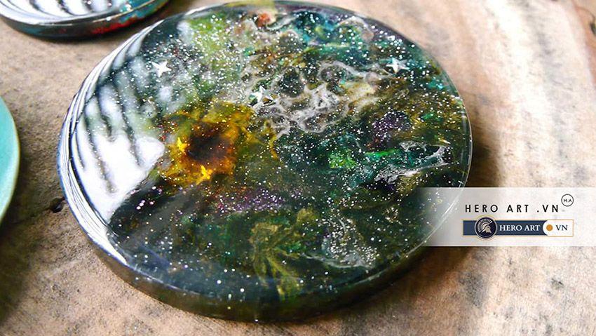 đồ trang trí bằng keo nhựa epoxy