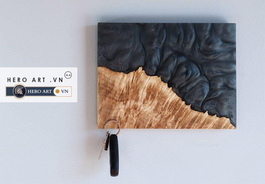tranh gỗ epoxy treo tường