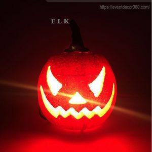 trang trí halloween bí ngô mút xốp