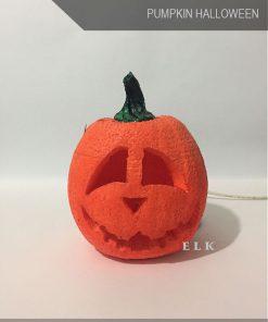bí ngô halloween bằng mút xốp