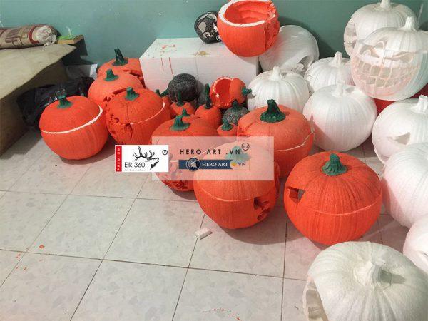tìm nơi bán trái bí ngô halloween