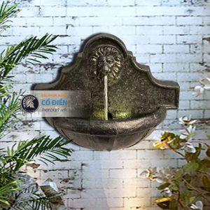 đài phun nước cổ điển trang trí sân vườn