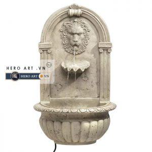 đài phun nước hình đầu sư tử