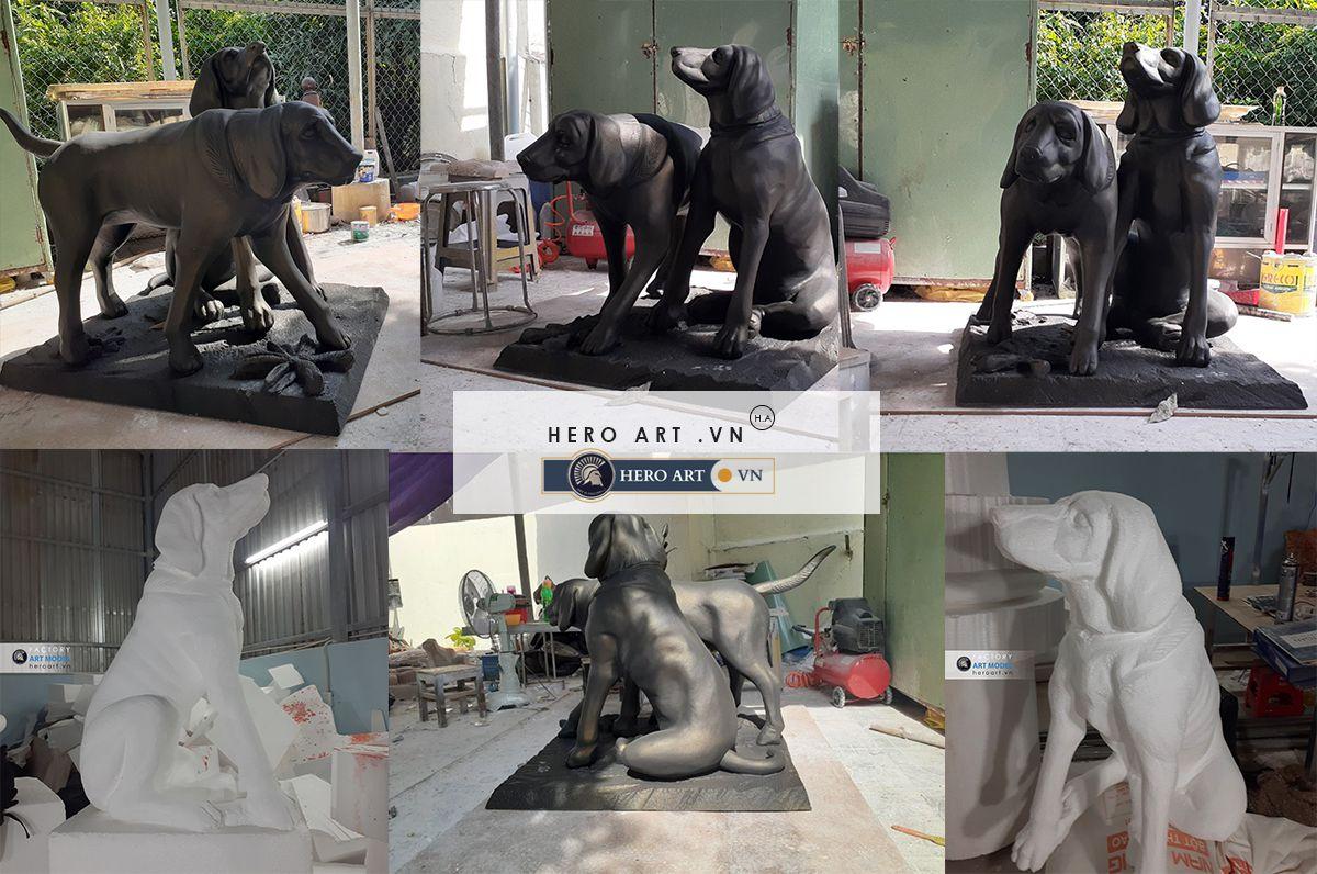 điêu khắc mô hình trang trí phim trường