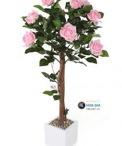 bán cây hoa hồng giả trang trí