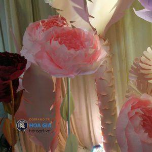 xưởng sản xuất hoa giả bằng giấy