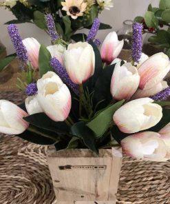 Lọ hoa giả nhỏ để bàn đẹp