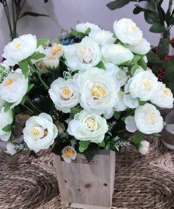 mua Hoa vải lụa đẹp
