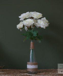 Bình hoa lụa trang trí nội thất