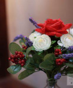 Hoa giả de bàn