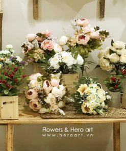 mua hoa giả giá rẻ tphcm