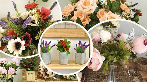 shop hoa giả trang trí đẹp