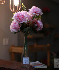 Bình hoa lụa đẹp phòng khách
