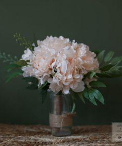 Hoa nhựa trang trí phòng khách tphcm
