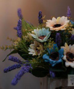 Hoa giả để bàn tphcm