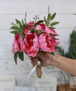 bó hoa giả cầm tay giá rẻ