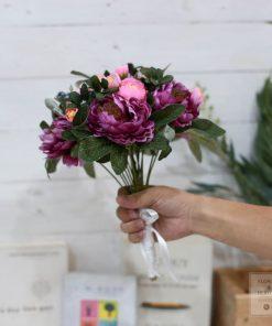 hoa giả bó hoa cầm tay