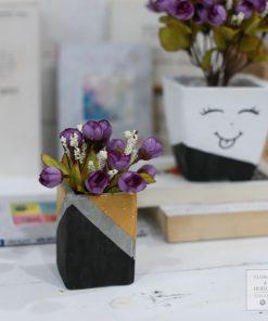 lọ hoa giả trang trí phòng khách