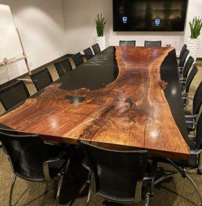 bàn hội nghị epoxy
