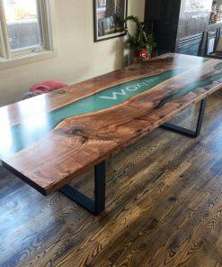 bàn gỗ epoxy cao cấp