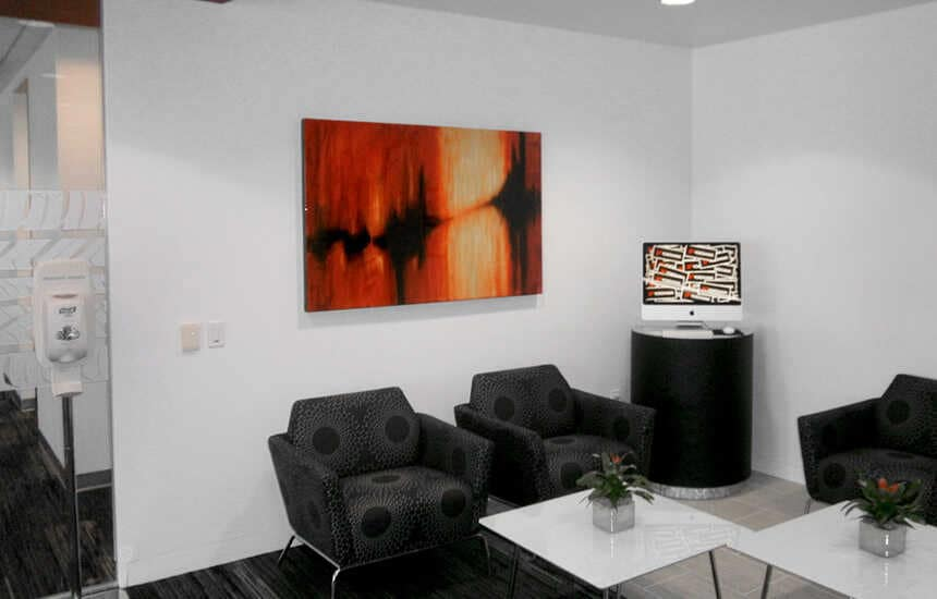 trang trí nội thất mĩ thuật doanh nghiệp